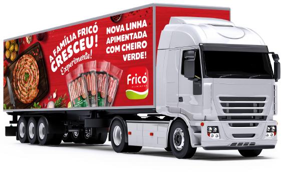 Caminhão Fricó Alimentos